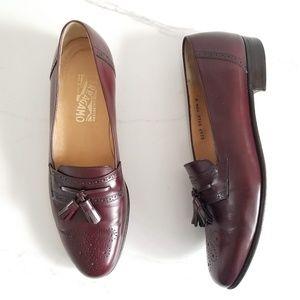 Salvatore Ferragamo Men's Caronte Tassel Loafers